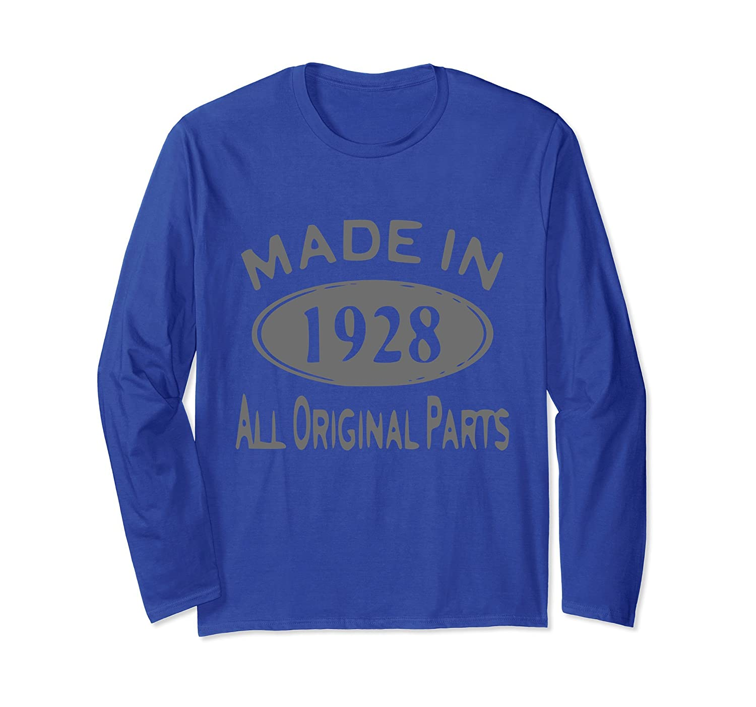 Age Shirt Made in 1928 90th Years Old 90 Birthday Gift-alottee gift