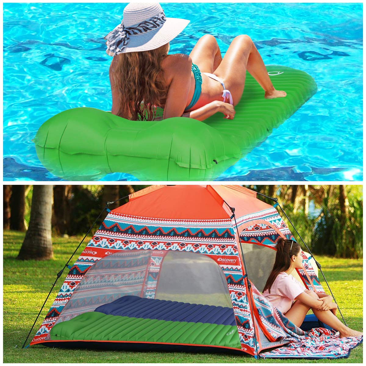 RYACO R997 Matelas de Camping Gonflable