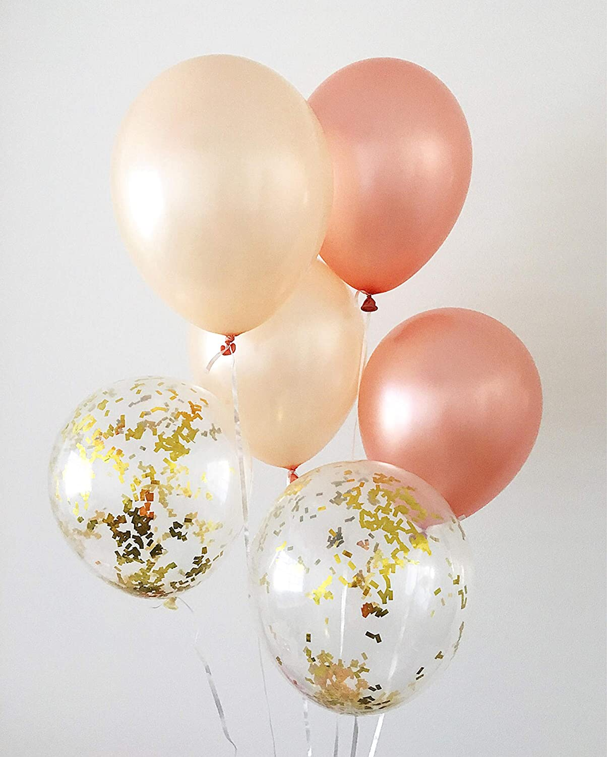 Packs 6~Colorful Confetti Latex Balloons,1 X 6-ct