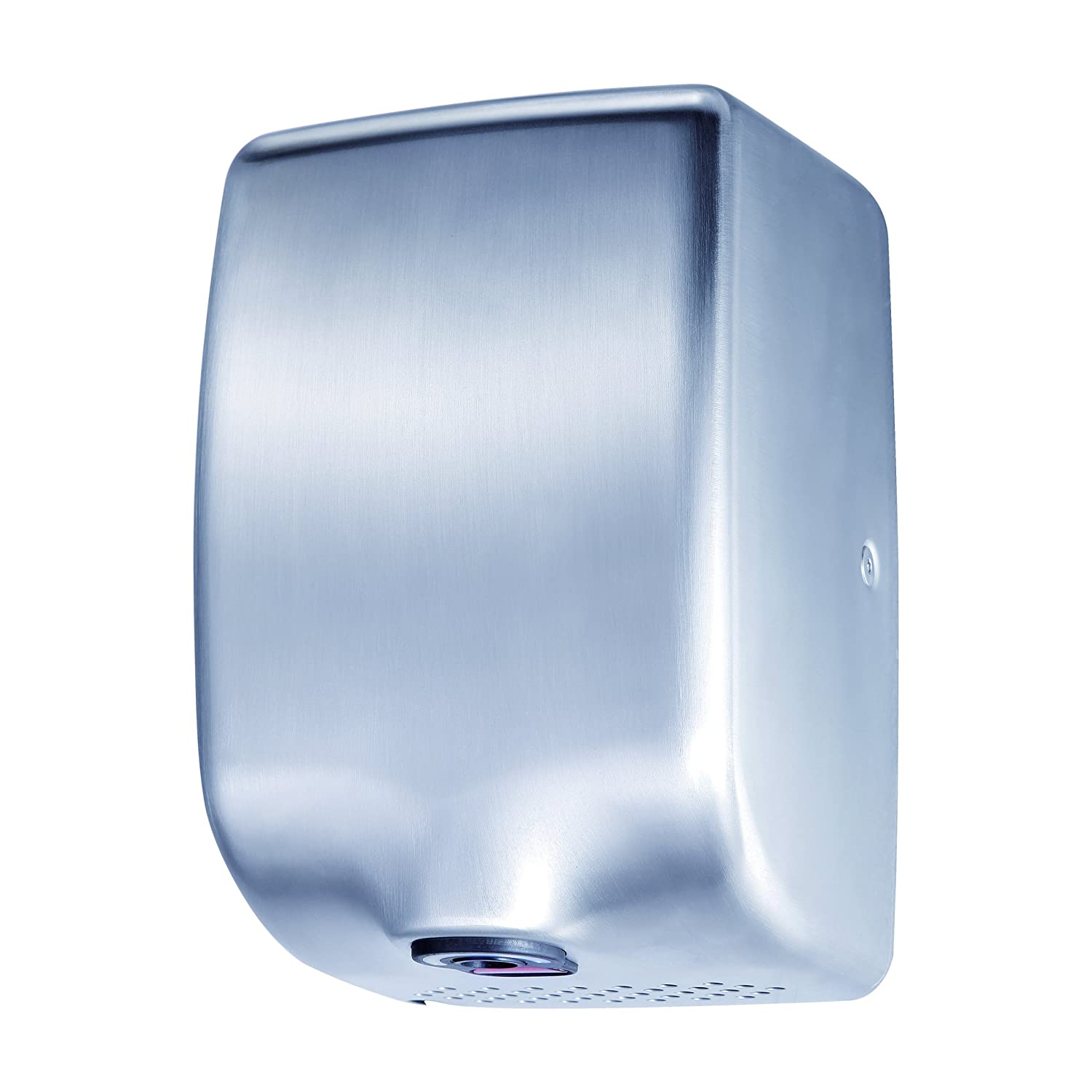 ASIALEO 110V/1350W Electric Hand Dryer,Automatic Sensor,High Speed with Low Noise 70db,Hot/Cold Air,Brushed Stainless Steel 304 Cover,Commercial Hand Dryer. kingwe