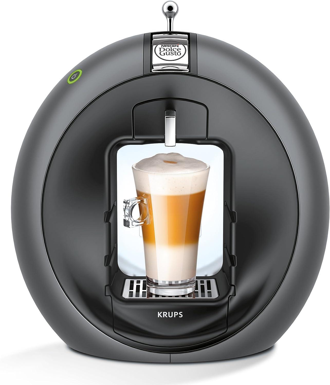 Krups Dolce Gusto Circolo - Máquina de café manual, color gris: Amazon.es: Hogar