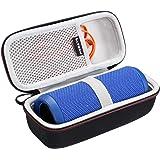 LTGEM EVA Fall Reise Tragen Aufbewahrung Tasche für JBL Flip 3/JBL Flip 4 Bluetooth Lautsprecher. Passend für USB Kabel und Zubehör.