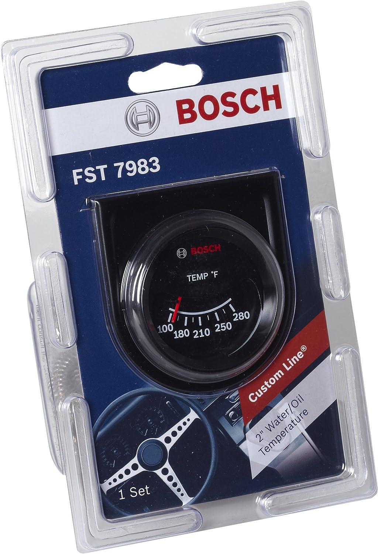 Bosch SP0F000034 Custom Line 2 Mechanical Water//Oil Temperature Gauge
