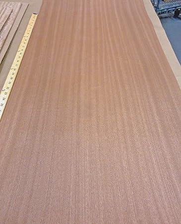 Ribbon Sapele Mahogany Wood Veneer 24 X 96 With Paper Backer A