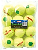 Tourna Pressurized Green Dot Tennis Balls 12 Pack Green Dot Tennis Balls Pressurized