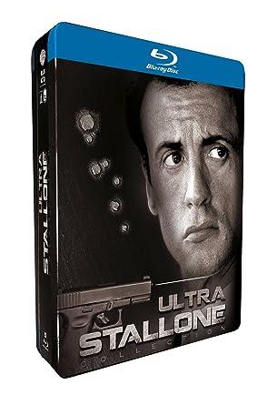 Ultra Stallone - Coffret 5 Blu-ray Francia Blu-ray: Amazon.es: Sylvester Stallone, George Pan Cosmatos, Marco Brambilla, Richard Donner, Luis Llosa, Danny Cannon, Sylvester Stallone: Cine y Series TV
