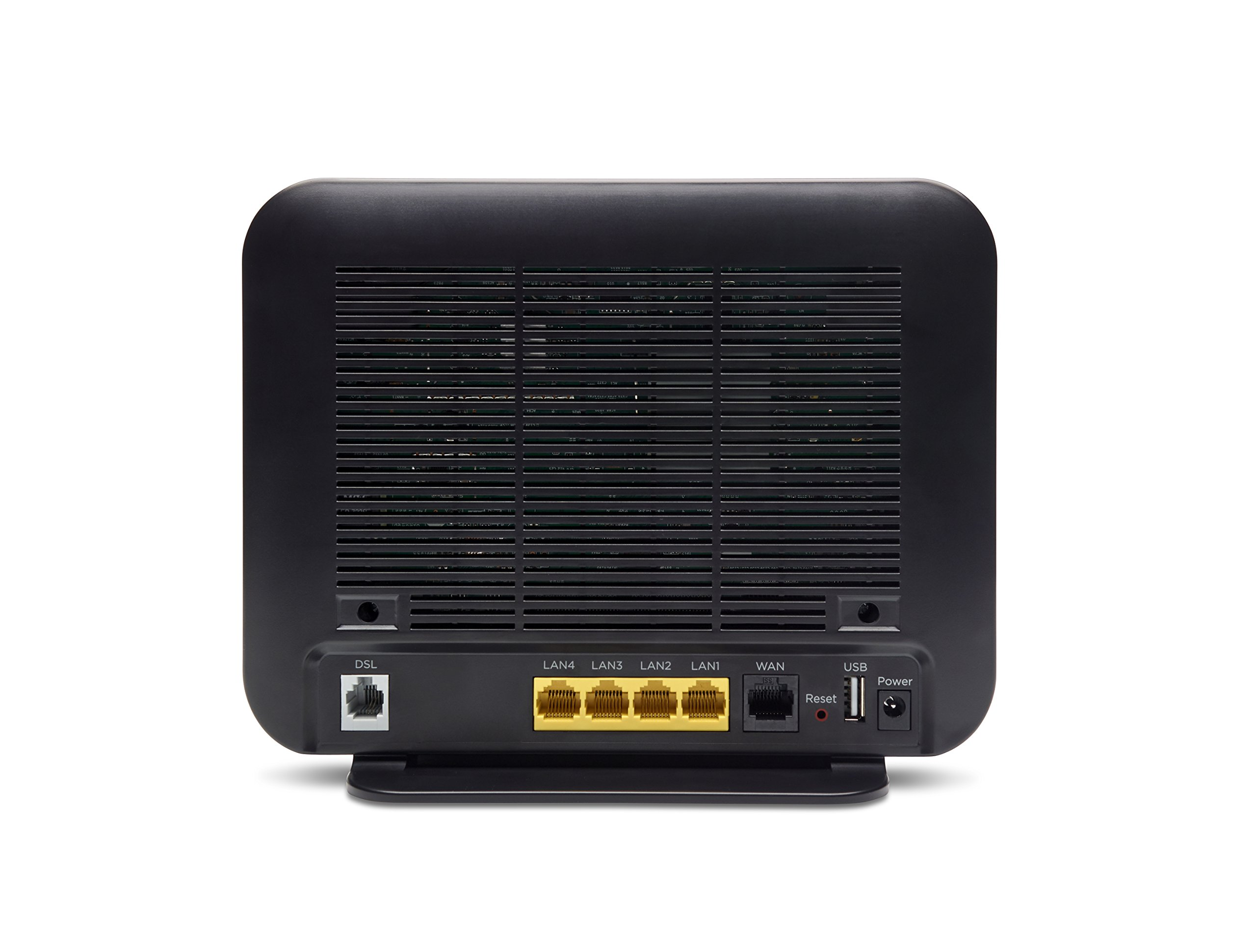 MOTOROLA VDSL2/ADSL2+ Modem + WiFi AC1600 Gigabit Router, Model MD1600, for Non-Bonded, Non-Vectoring DSL from CenturyLink, Frontier, and Some Other DSL Providers 2 IMPORTANT: MODEL MD1600 DOES NOT WORK WITH BONDED VDSL, BONDED ADSL, OR VDSL VECTORING. PLEASE READ THE CHECKLIST in the product images on this page before purchasing this product. If you're still not sure whether you have the right type of DSL service, BE SURE TO ASK YOUR SERVICE PROVIDER BEFORE purchasing this product. MODEL MD1600 IS NEVER COMPATIBLE WITH VERIZON OR AT&T SERVICES. The MD1600 IS NEVER compatible with Comcast, Charter Spectrum, Cox, or other cable services The MD1600 is a great choice for most ADSL and VDSL services from CenturyLink, Frontier, Windstream, TDS Telecom, and Fairpoint. .It combines a VDSL2/ADSL2+ modem with a full-featured AC1600 WiFi Gigabit router to provide fast Internet to all your WiFi and Ethernet devices. DSL services use the telephone wiring in your home. Supplying your own modem typically saves $9.99 in modem rental fees for CenturyLink, and savings vary for other service providers. Built-in router includes four Gigabit Ethernet ports, AC1600 wireless, a firewall, WPA/WPA2 wireless security, IPv4 and IPv6 support, and Virtual Private Network (VPN) capability. You can plug a USB storage device into the MD1600's USB 2.0 host port for Network Attached Storage (NAS) which supports DLNA Media Sharing.