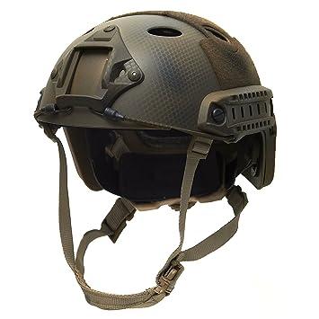 emersongear Tactical Casco MICH Fast Casco Táctica Paintball Airsoft Gotcha
