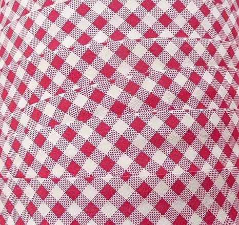 Dunkelblau 10 m Schr/ägband 100/% Baumwolle 25 mm