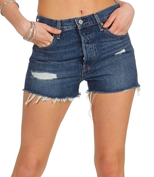 a63e37be1463 Levi's 501 Short HIGH Rise 56327 Shorts Women: Amazon.co.uk: Clothing