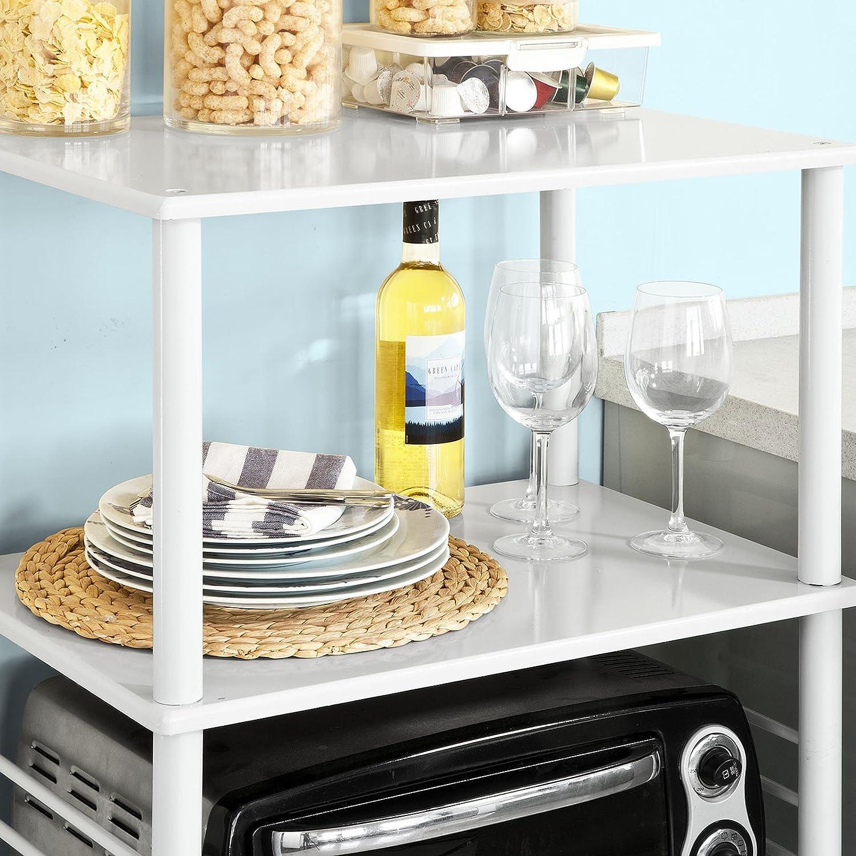 SoBuy Küchenwagen, Küchenschrank, Rollschrank, Küchenregal,FRG12-W ...