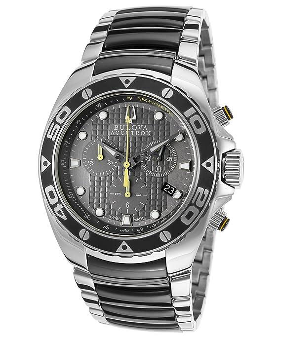 Bulova Accutron 65B138 Mens Accutron Mirador Watch: Amazon.ca: Watches
