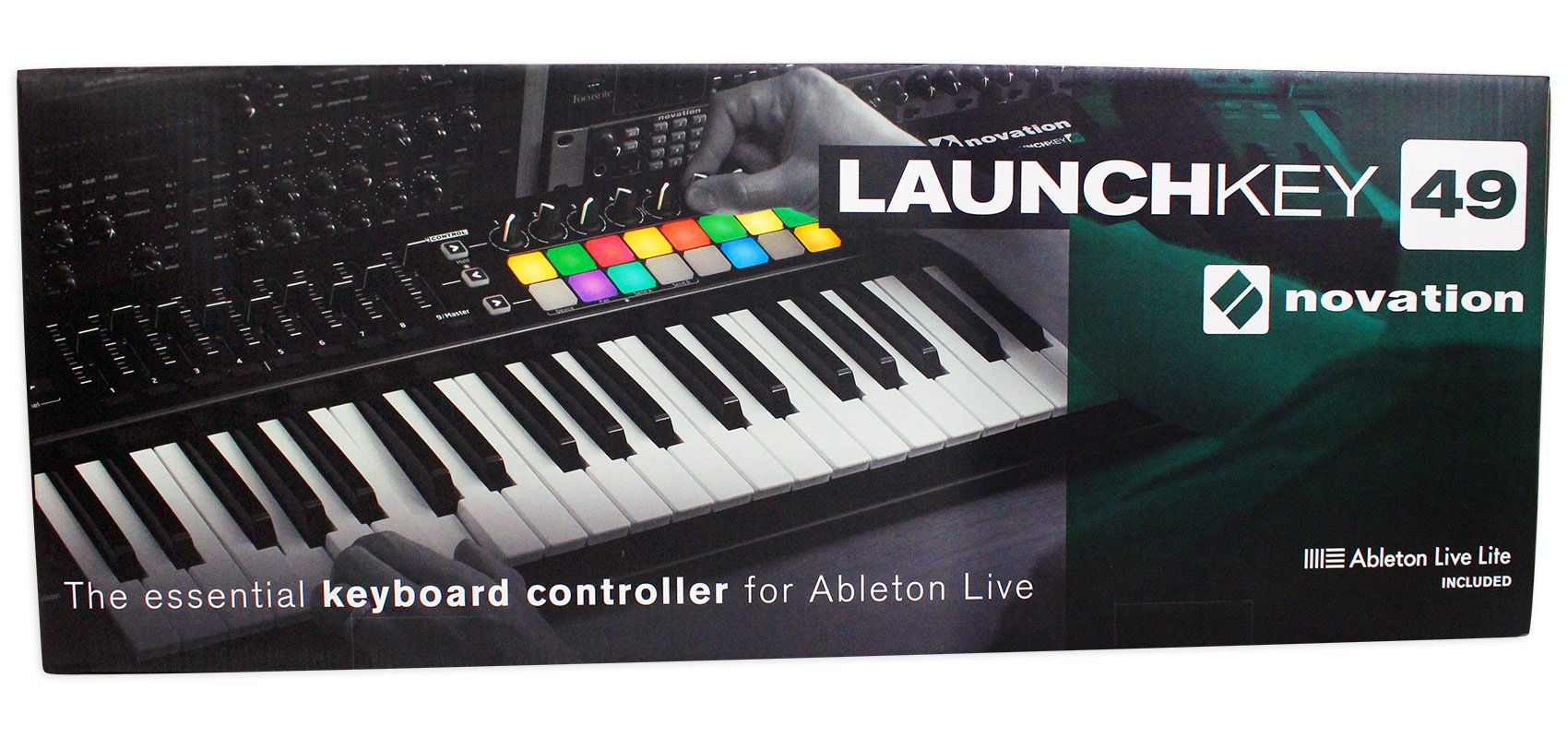 Novation LAUNCHKEY-49-MK2 49-Key USB MIDI Keyboard Controller+Mic+Case+Cable by Novation (Image #6)