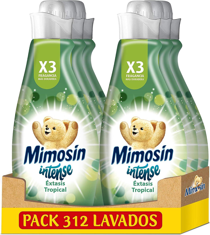 6 botes de suavizante Mimosín Intense Éxtasis Tropical por 15,70€ ¡¡25% de descuento!!