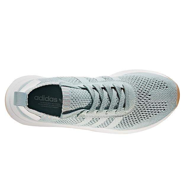 Adidas Course Primeknit De Flashback Vert Flb Chaussures Blanc Et r7rZw