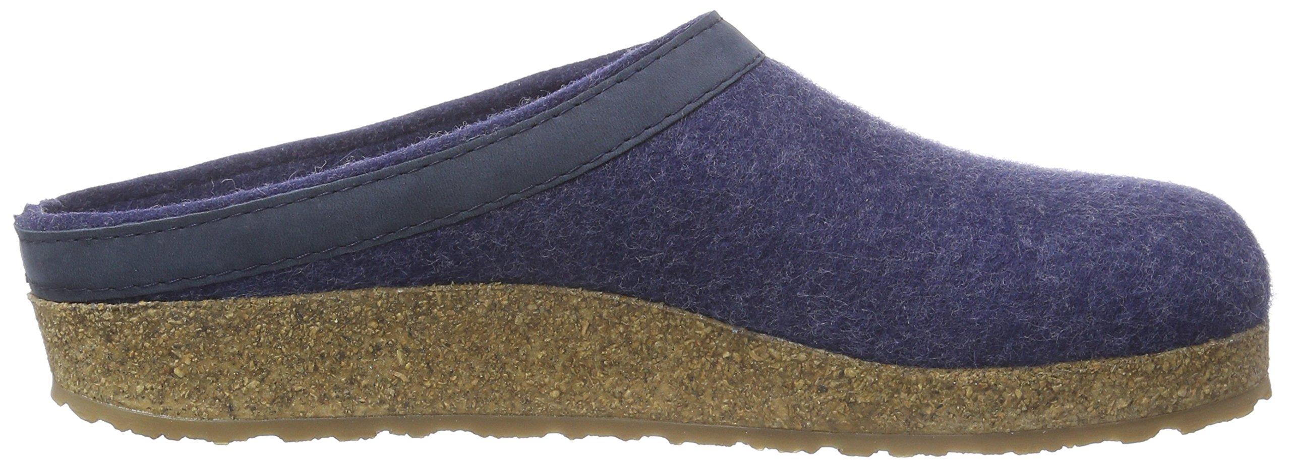 Haflinger 713001 Slippers, Filztoffel Grizzly Torben, Jeans, Gr 50 by Haflinger (Image #11)