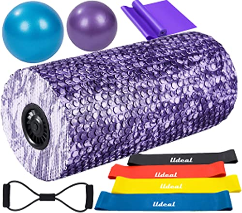 LLDEAL Soft Electric Foam Roller