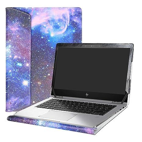 """Alapmk Diseñado Especialmente La Funda Protectora de Cuero de PU para 13.3"""" HP EliteBook x360"""