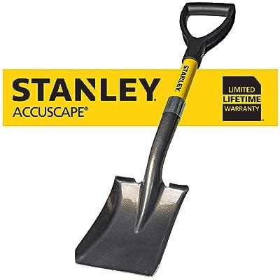 Stanley Garden BDS8088 Mini D-Handle Square Head Shovel, Yellow : Garden & Outdoor