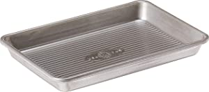 USA Pan Bakeware Mini Sheet Warp Resistant Nonstick Baking Pan, Aluminized Steel