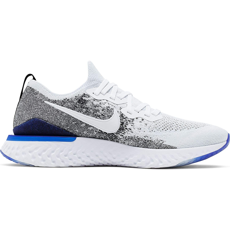 69a5ee5743be5 Amazon.com | Nike Epic React Flyknit 2 Men's Running Shoe White ...