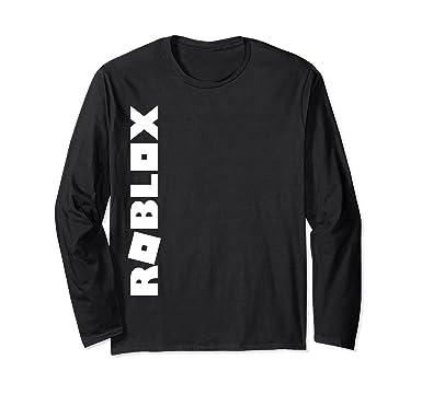 Amazoncom Roblox Logo Longsleeve Shirt Clothing