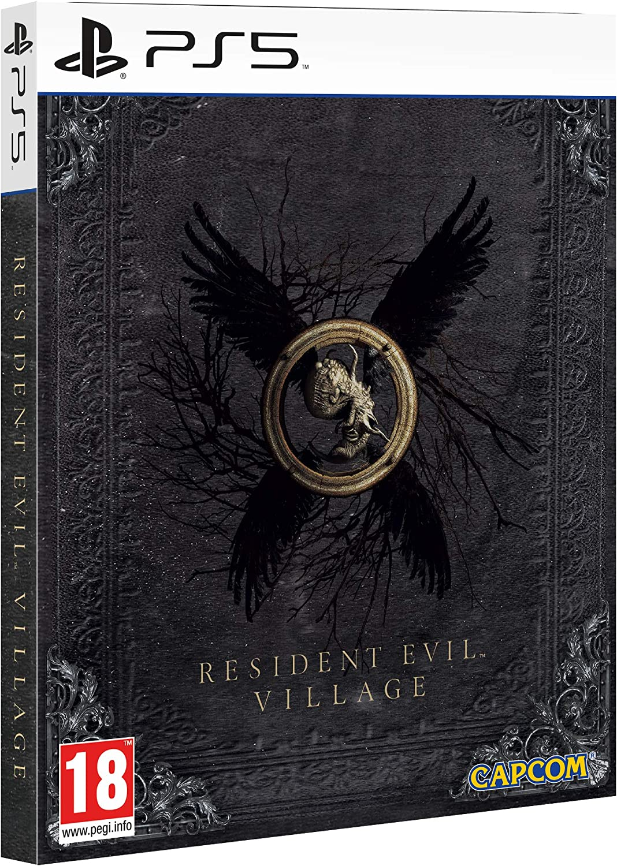 resident evil village steelbook