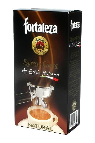 Café Fortaleza Café Molido Espresso Crema Natural - 250 gr