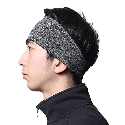 Amazon.com   SUNMECI Headbands for Men - Moisture Wicking Turban ... d0f7e8b7b74