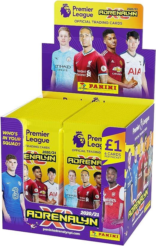 Panini- Premier League 2020/21 Adrenalyn XL Packs (x70 Paquetes) (PLA2021P): Amazon.es: Juguetes y juegos