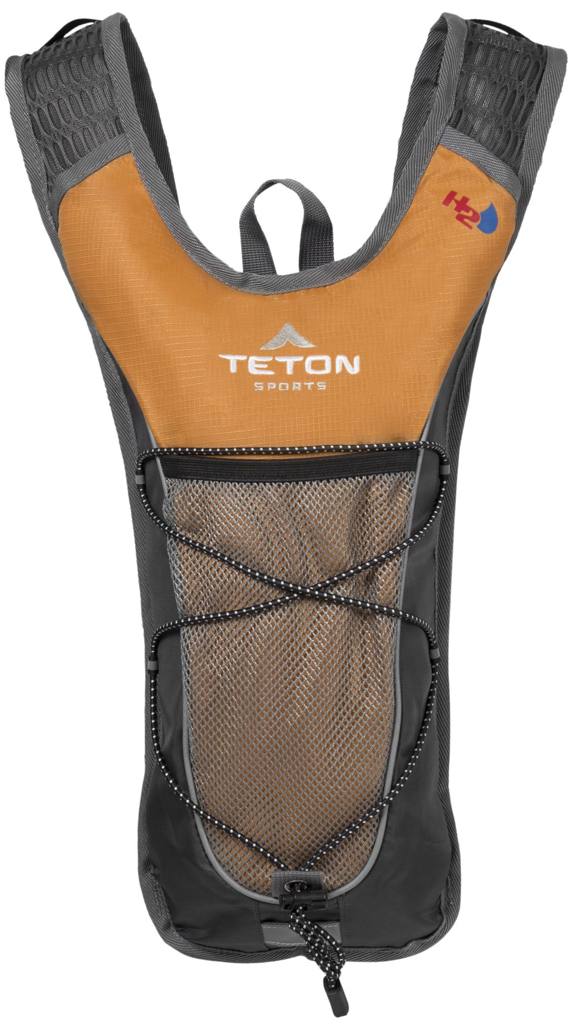 TETON Sports TrailRunner 2.0 Hydration Pack; Backpack for Hiking, Running and Cycling; Free 2-Liter Hydration Bladder; Orange by TETON Sports