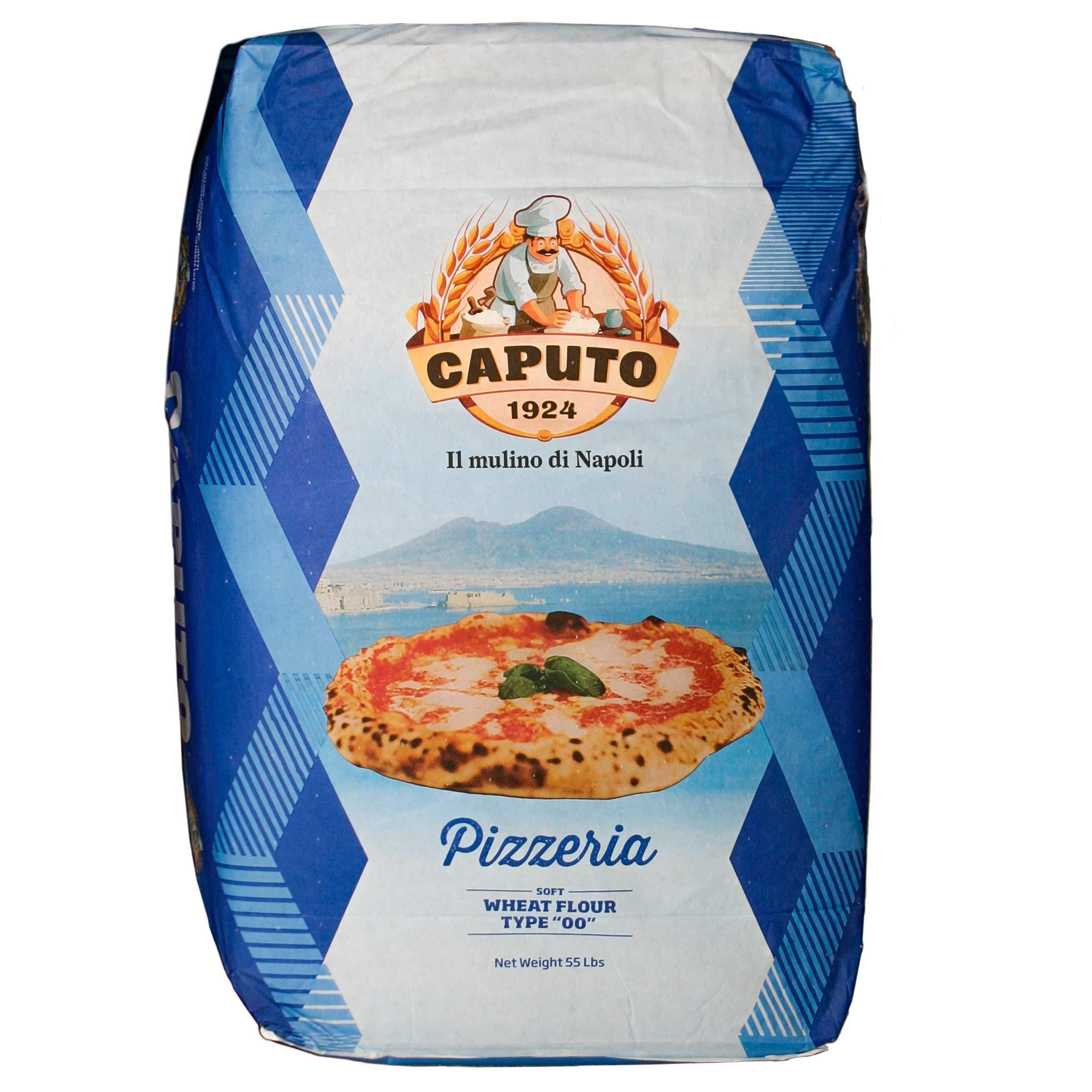 Antimo Molino Napoli Caputo 00 Pizzeria Flour (Blue) 15 Lb Repack by Antico Molino Napoli