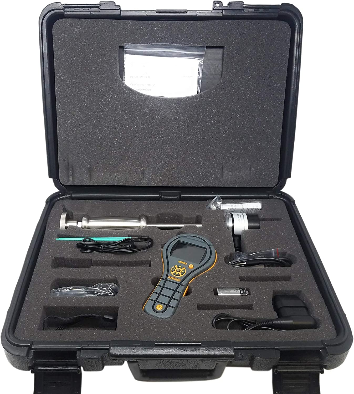 GE Protimeter BLD8800CR MMS2 Moisture Meter Measurement System with Restoration Kit and QuickStick Sensor