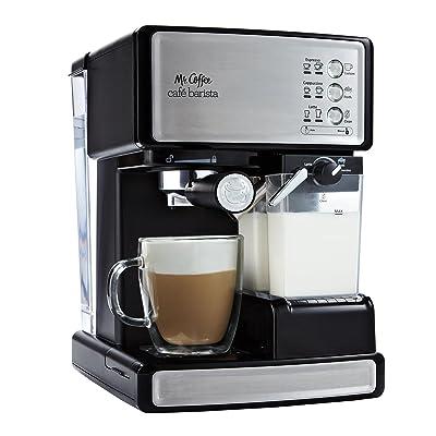 Mr. Coffee Café Barista Premium Espresso/Cappuccino System, ECMP1000