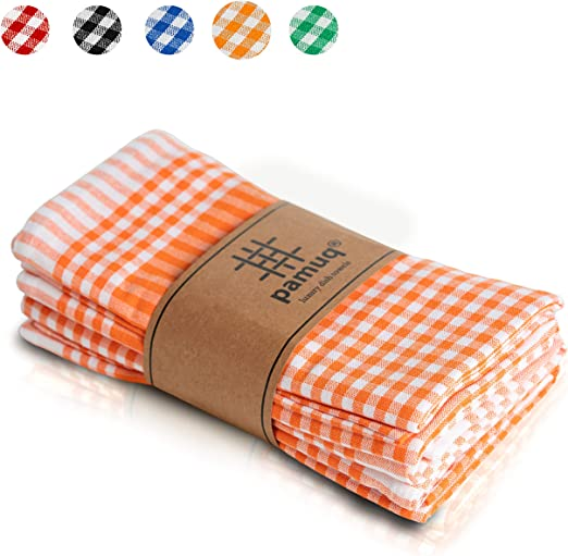 pamuq® paños de cocina de algodón 100% | paquete de 5 | 45 x 65 cm ...