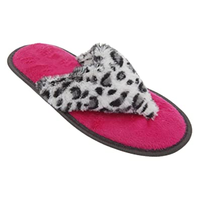 Chaussons style tongs - Femme dNkIbgmXg
