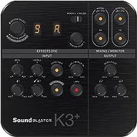Creative Sound Blaster K3+ USB Powered 2 Channel Digital Mixer with Phantom Power / TRS / Z Line Inputs