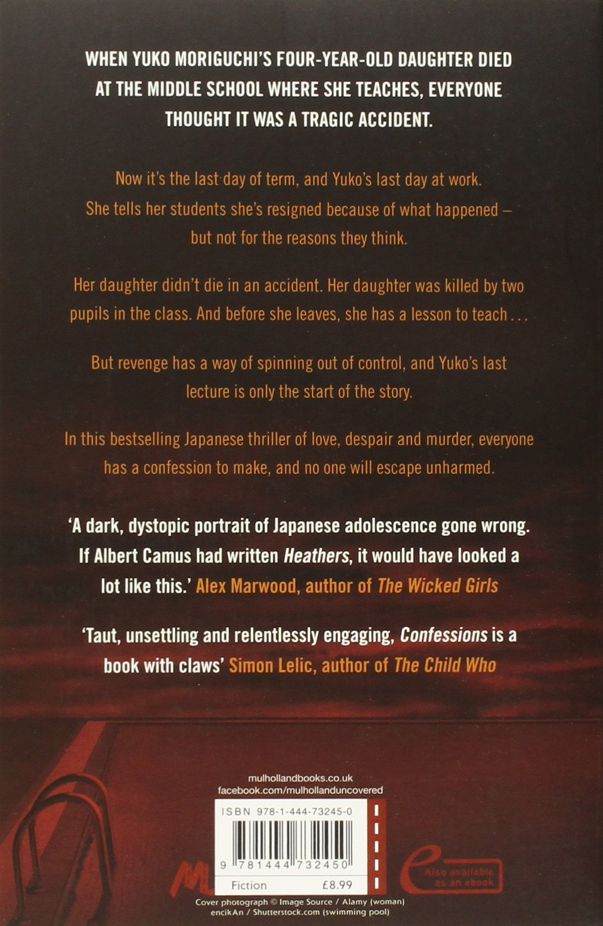Confessions: Amazon co uk: Kanae Minato, Stephen Snyder