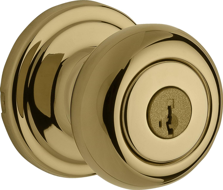 9GA1010-005 Interior Door Knob Weiser Troy Knob for Hall//Closet Antique Nickel