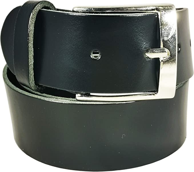 38mm Mens New Real Leather High Quality Plain Fashion Belt Made In UK