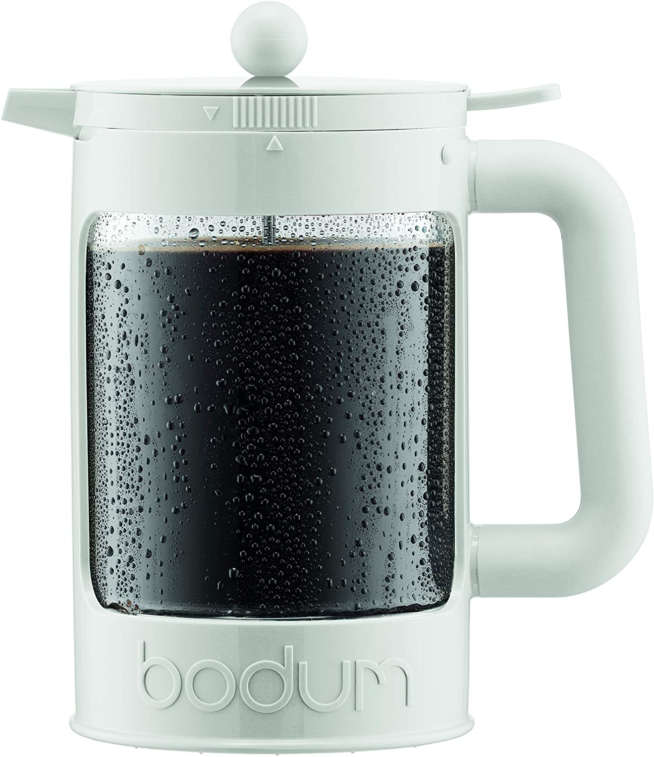 Bodum BEAN Cold Brew Coffee Maker, 51 Oz, Bright White