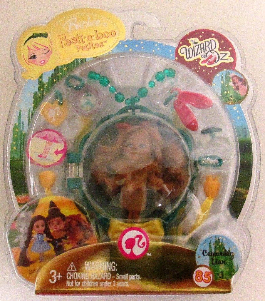 mejor vendido Barbie Peek-a-boo Petites Wizard of of of Oz Cowardly Lion 85 by Mattel  protección post-venta