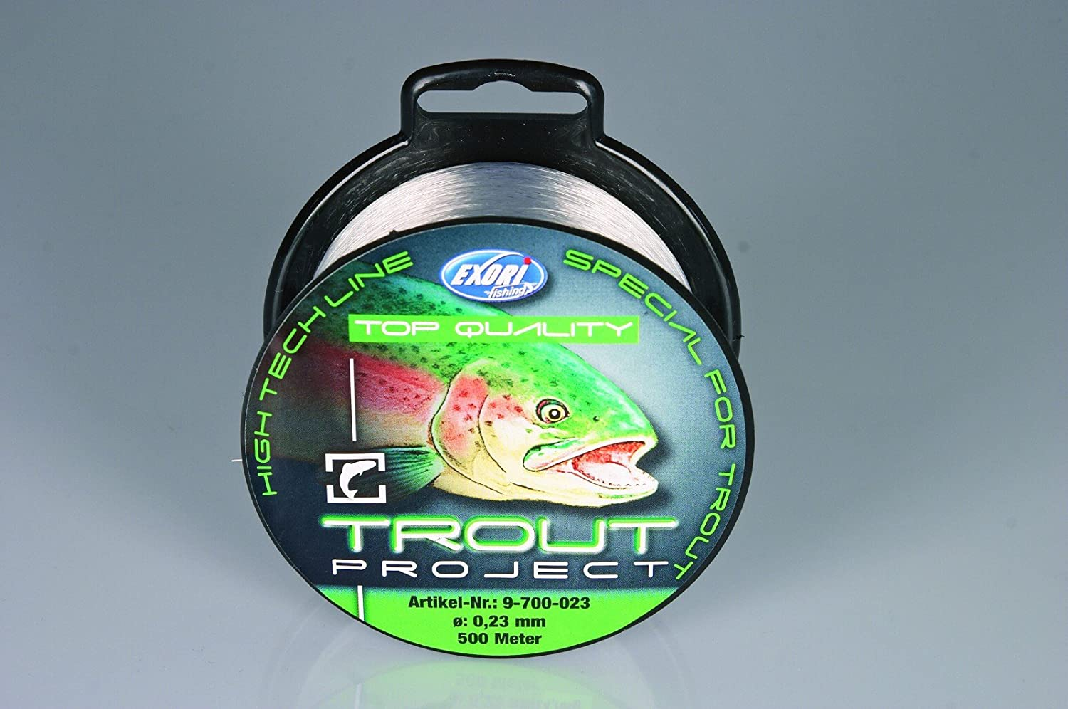 Exori Trout Project Top Quality 0,23mm 500m Forellenschnur