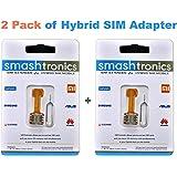 Smashtronics Hybrid Sim Slot Adapter - Pack of 2