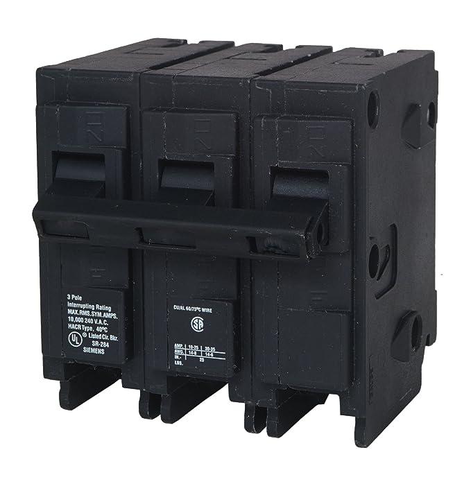 Siemens Q325 25-Amp 3 Pole 240-Volt 10-Kaic Circuit Breaker