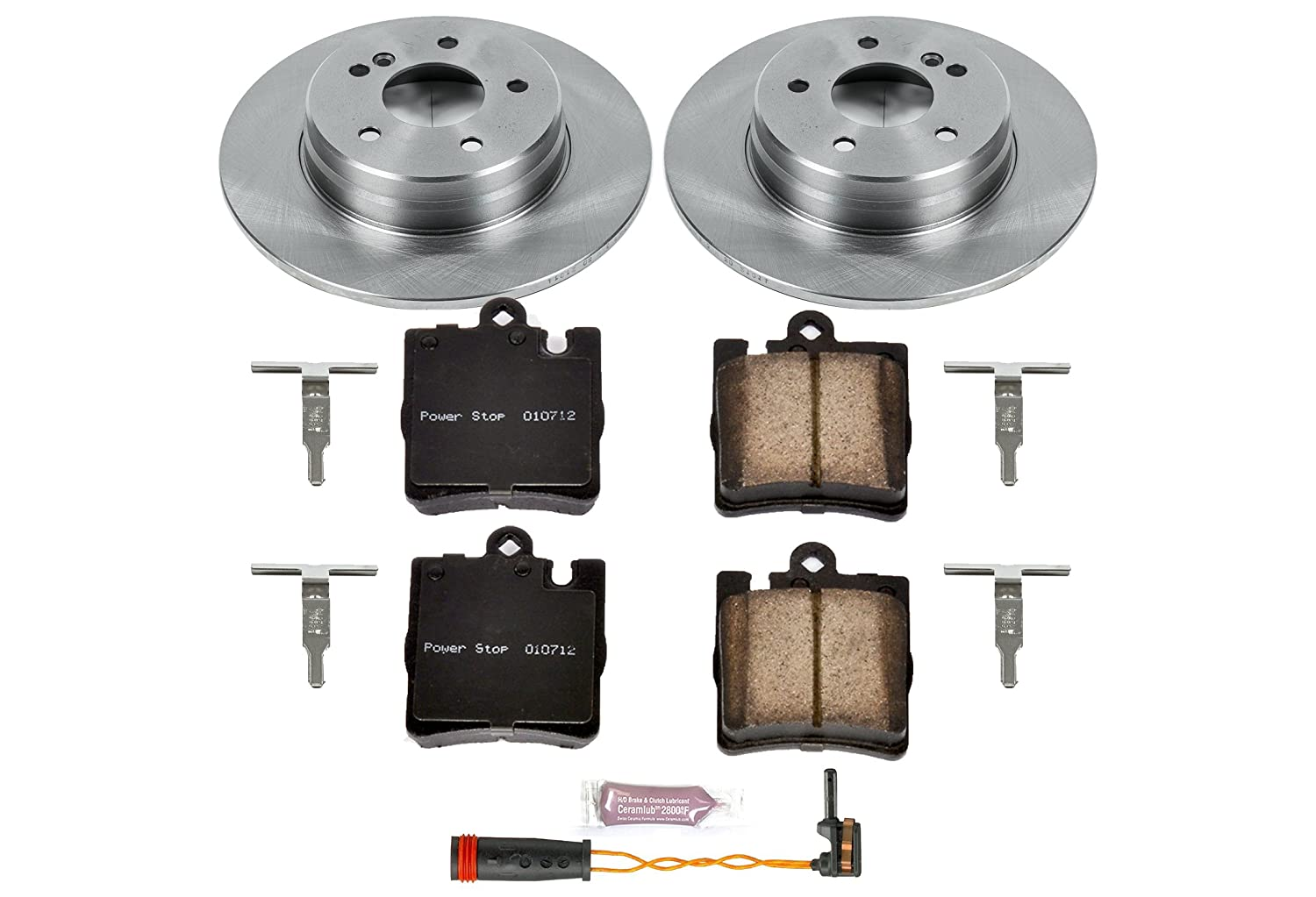 Autospecialty KOE626 1-Click OE Replacement Brake Kit Power Stop