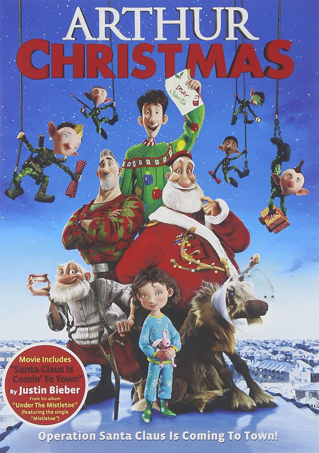 Amazon.com: Arthur Christmas: Sarah Smith, Peter Lord, David ...