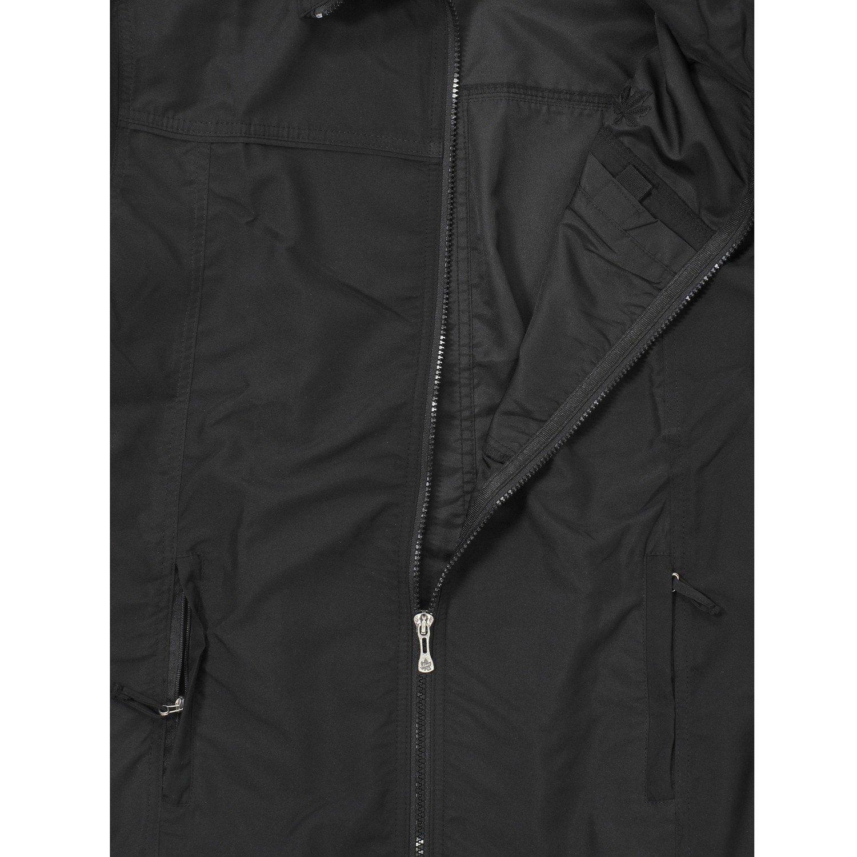 Negra Chaleco de arce en tallas grandes hasta 10/XL