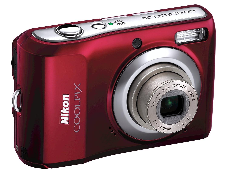 Amazon.com : Nikon Coolpix L20 10MP Digital Camera with 3.6 ...