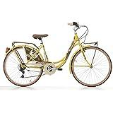 26 Zoll Cinzia Decoville Damen City Fahrrad 6 Gang